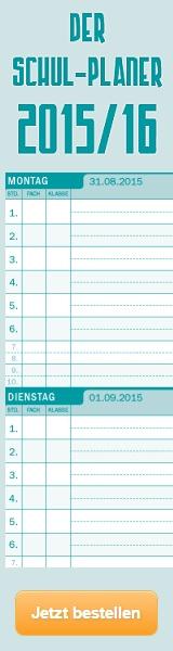 Schulplaner 2015/16