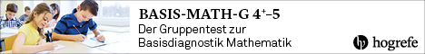 Gruppentest zur Basisdiagnostik Mathematik
